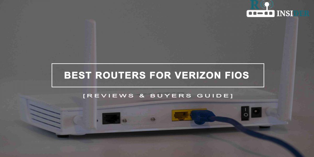 Best Routers For Verizon Fios