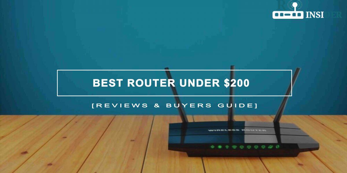 Best Router Under $200